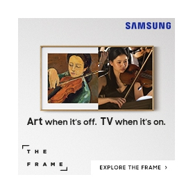 The Frame: Art When It's Off, TV When It's On.